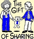 image: sharing is a gift