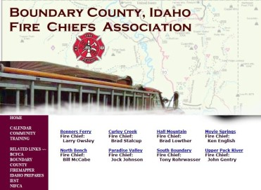 Boundary County Fire Chiefs Association